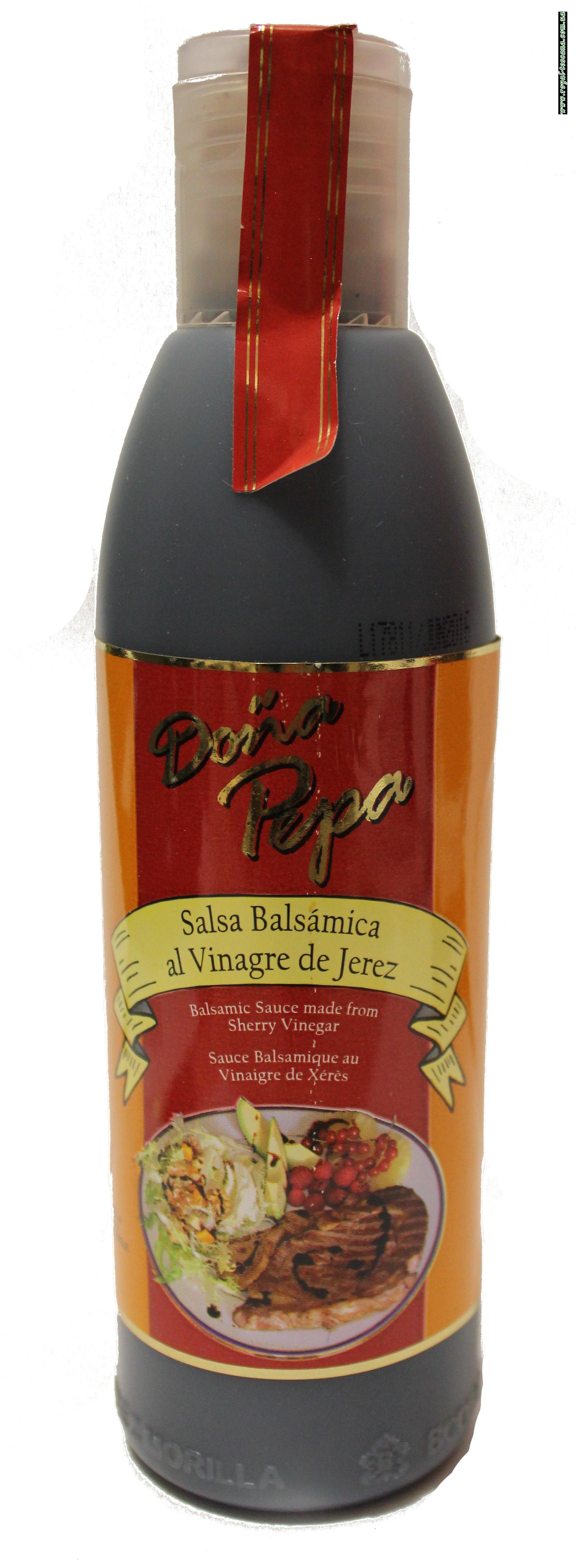 """Уксус бальзамический """"Dona Pepa"""" salsa balsamica al vinagre de Jerez"""