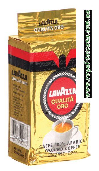 Молотый кофе Lavazza Qualita Оrо арабика 100%