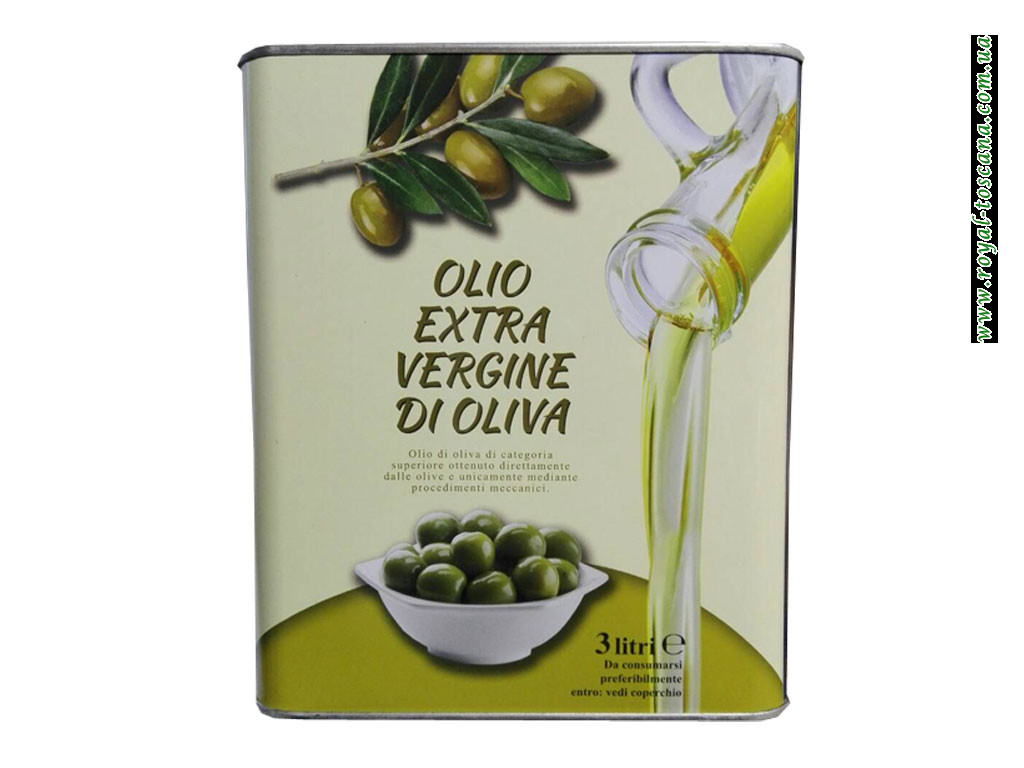 Оливковое масло Extra Vergine di oliva, 3л Оптом.