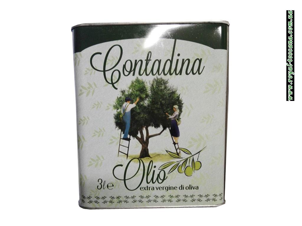 Оливковое масло Contadina Olio Extra Vergine di Oliva, 3л Оптом.