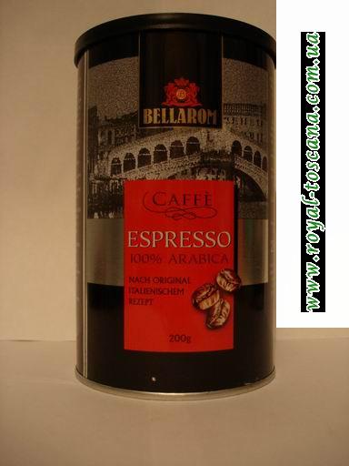 Кофе Espresso Bellarom арабика 100%