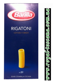 Макароны Barilla Rigatoni n.89