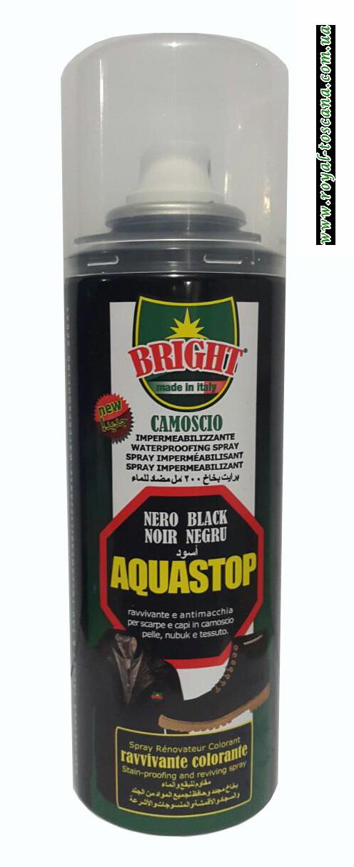 Краска для кожи, цвет черный Aquastop Nero Black