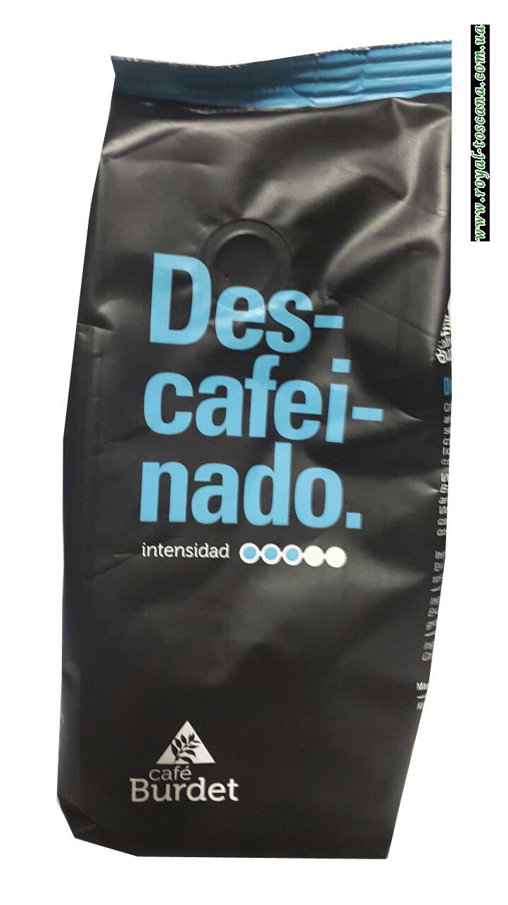 Кофе без кофеина молотый Cafe Burdet Descafeinado, 250г
