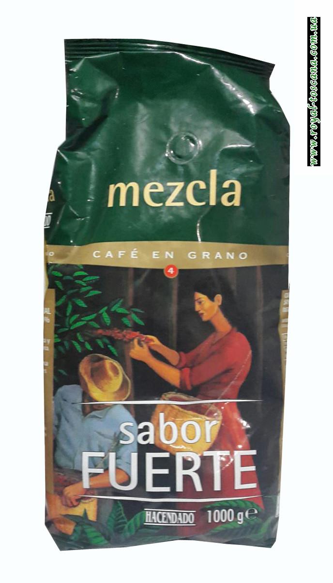 Кофе в зернах Hacendado Sabor Fuerte