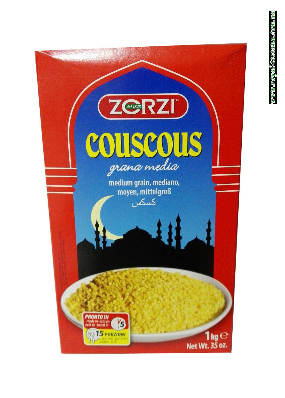 Кус-кус каша Zorzi Couscous