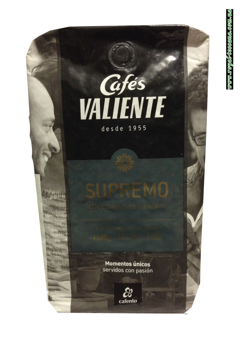 Кофе в зернах Cafes Valiente Supremo