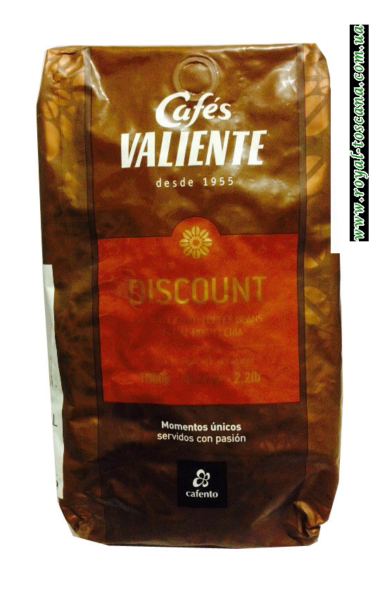 Кофе в зернах Cafes Valiente Discount
