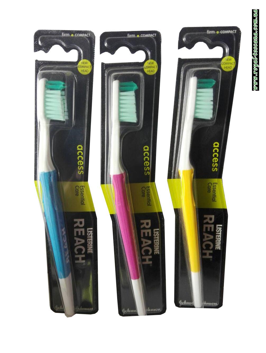 Зубная щетка Reach Listerine Access