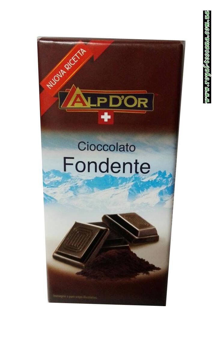 Шоколад черный AlpDor Cioccolato Fondente