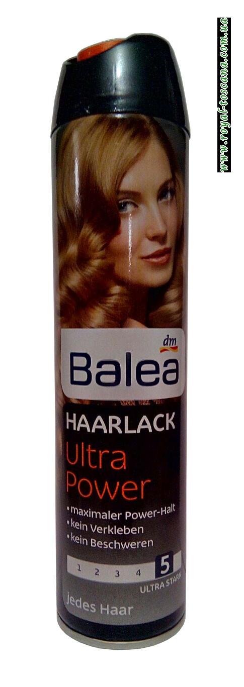 Лак для волос Balea Haarlack Ultra Power