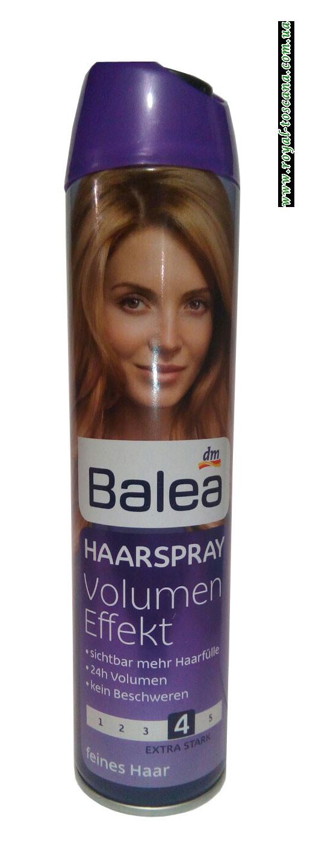 Лак для волос Balea Haarspray Volumen Effekt