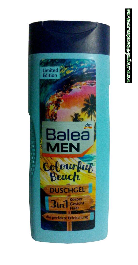 Гель для душа освежающий 3 в 1 Balea Men Colour Beach Duschgel 3в1