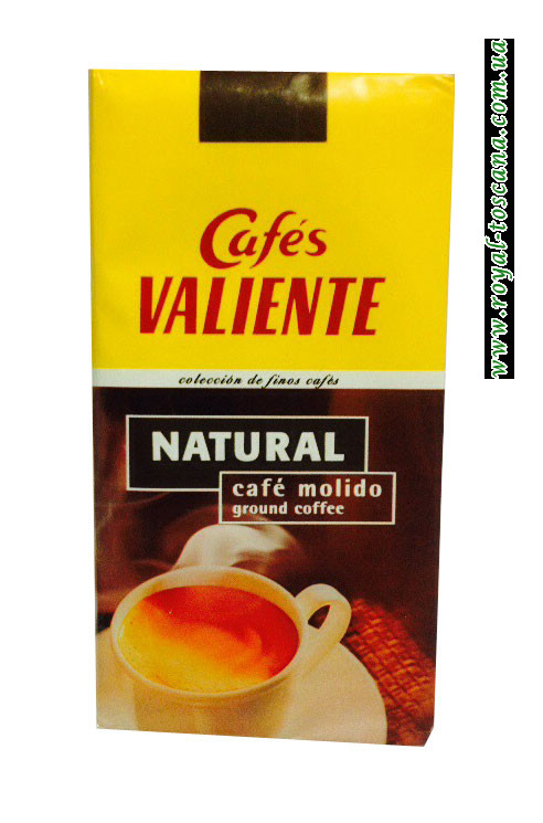 Кофе молотый Cafes Valiente Natural Cafe Molido