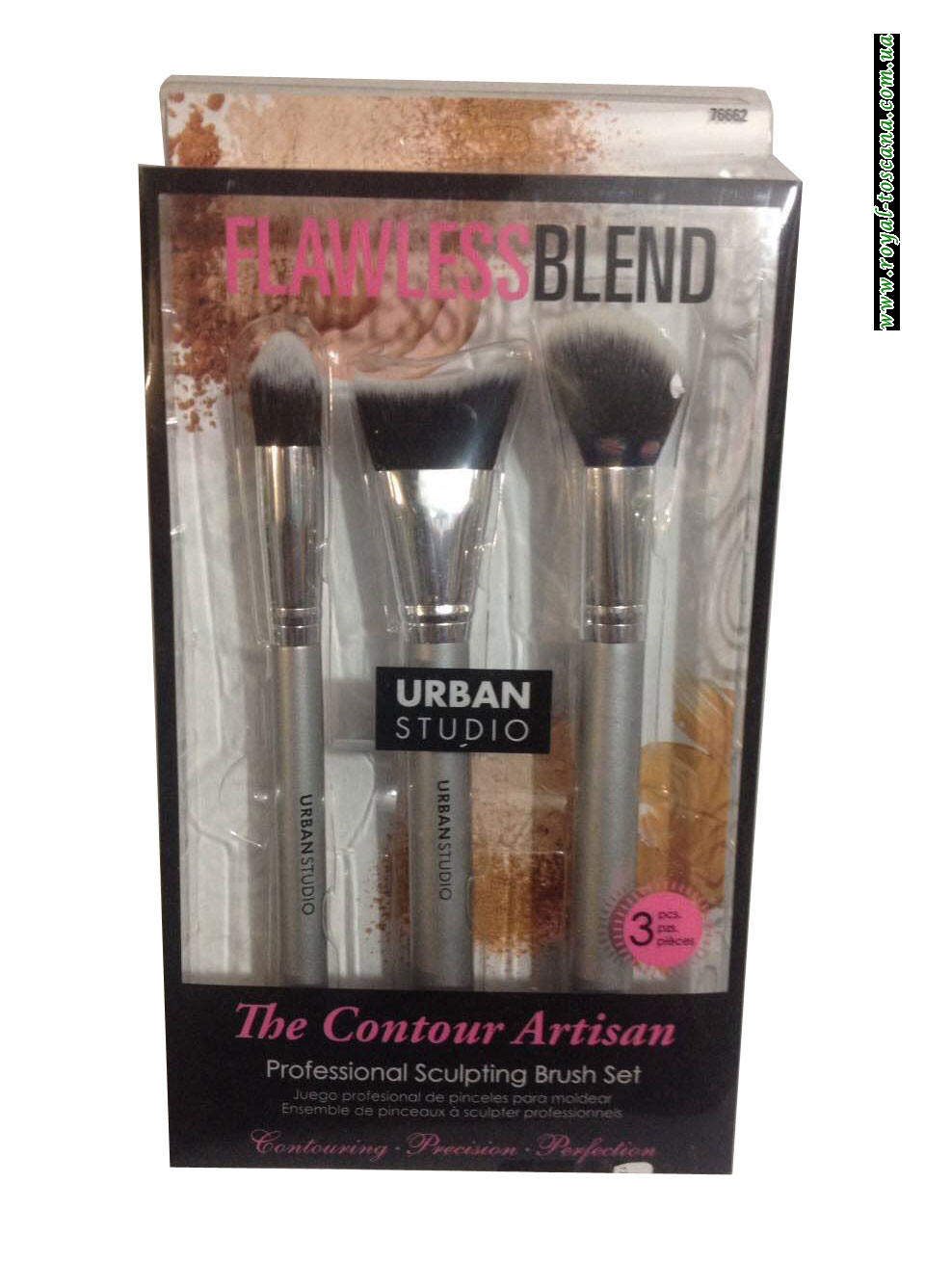 Набор кистей для макияжа Urban Studio Flawless Blend The Contour Artisana