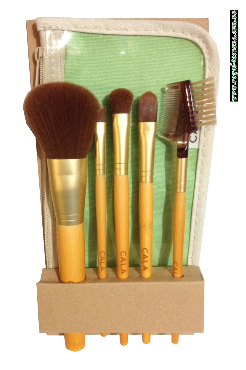 Набор кистей для макияжа 5 кистей Cala