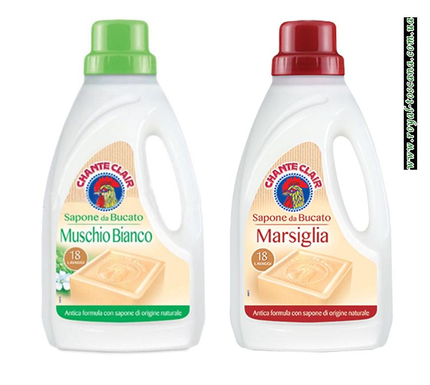 Гель для стирки с мылом Marsiglia ChanteClair Profumo, 1.0 л. (18 стирок)