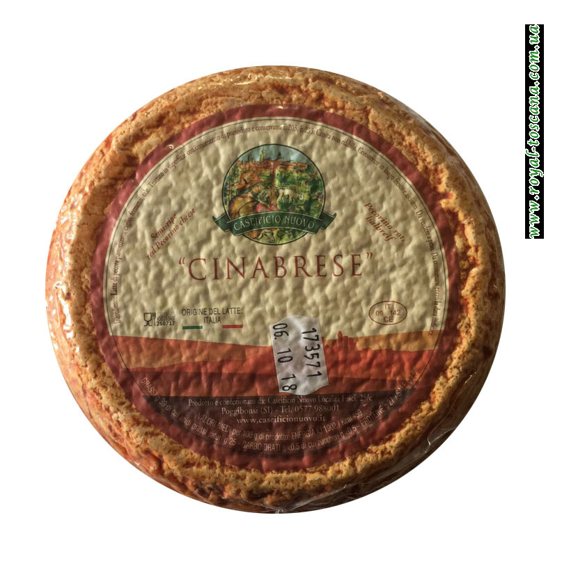 Сыр Caseificio Nuovo Cinabrese Semi-ripe Red Pecorino Сheese