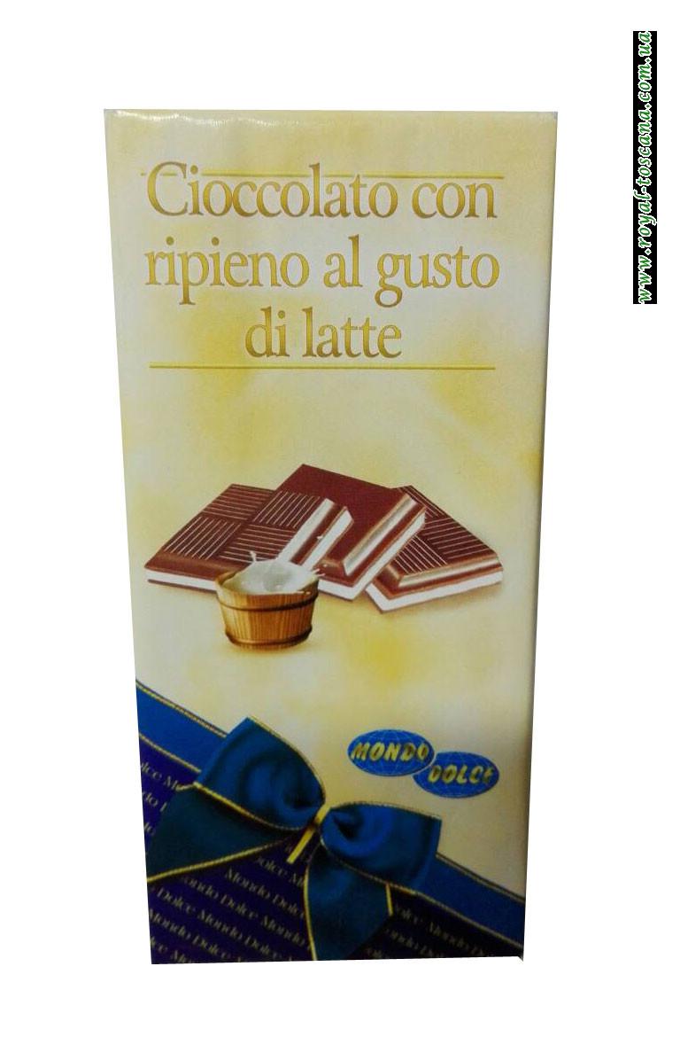 Шоколад с молочной начинкойCioccolato con Ripieno al Gusto di Latte