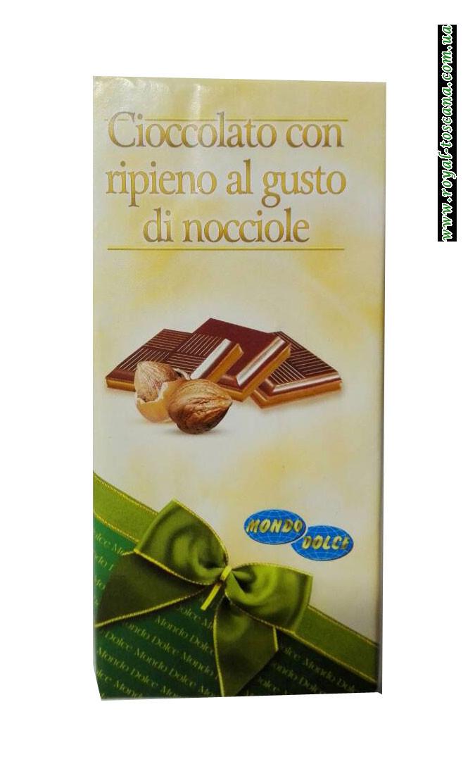 Шоколад Cioccolato con Ripieno al Gusto di Nocciole