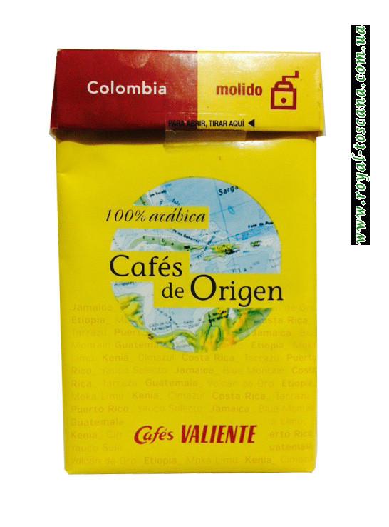 Кофе молотый Cafes Valiente Colombia Cafes de Origen