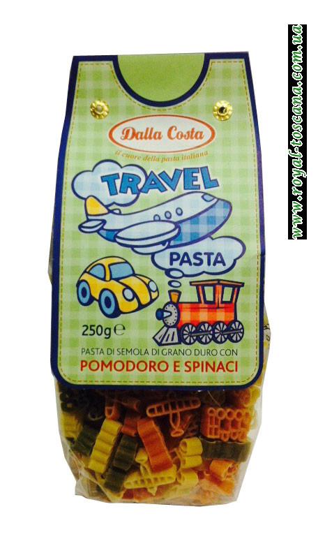 Детские макароны Dalla Costa Travel Pasta Pomodoro e Spinaci