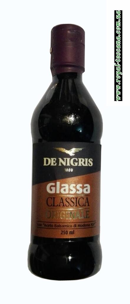 Крем соус бальзамический De Negris Glassa Aceto Balsamico de Modena IGP