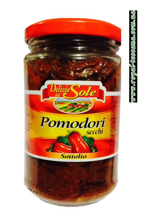 Помидоры вяленные Delizie del Sole Pomodori Secchi Sottolio