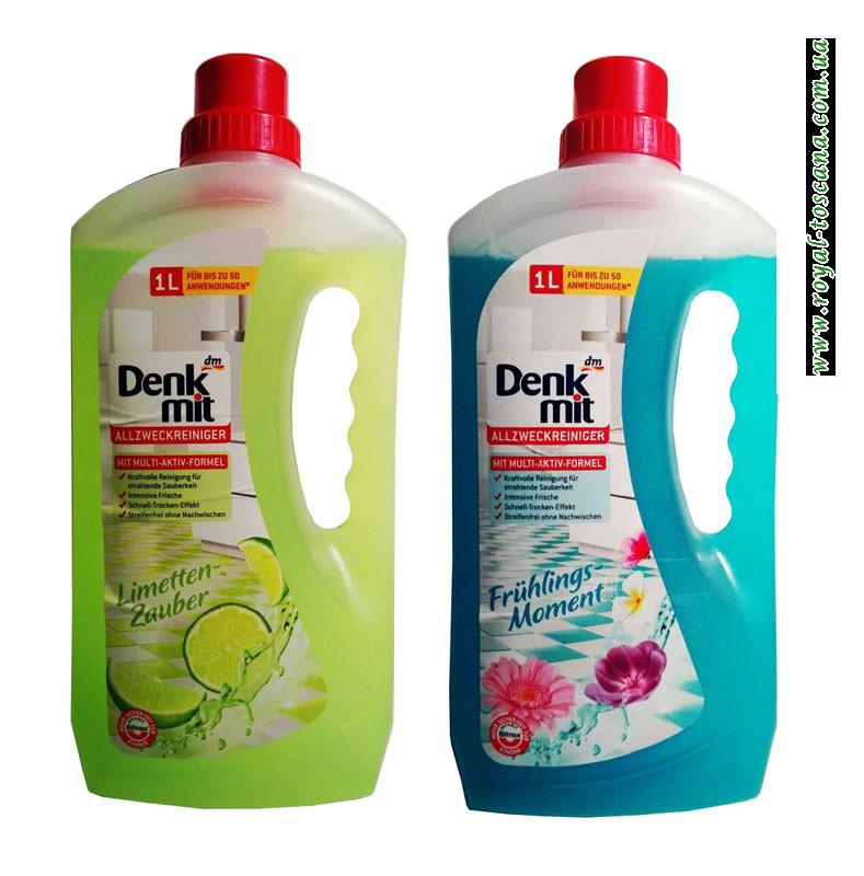 Чистящее средство для кухни и ванной Denk mit Allzweckreiniger в ассортименте