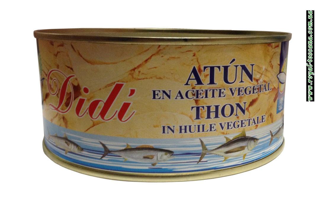 Тунец в растительном масле Didi Atun en Aceite Vegetal