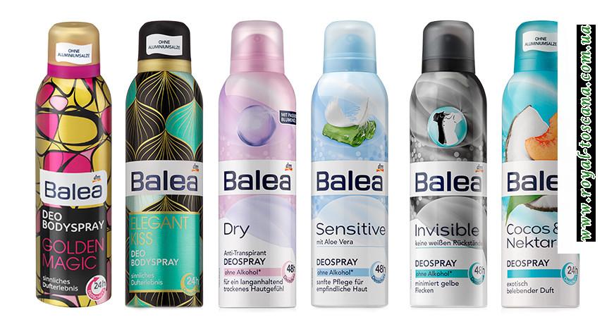 Дезодорант-спрей для женщин DenkMit Balea Deospray