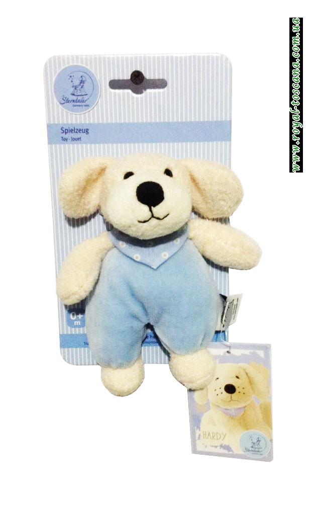 Детская погремушка собака Sterntaler Spielzeug Hardi