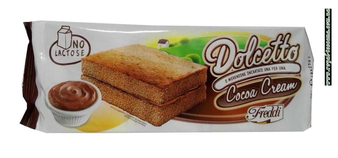 Бисквит шоколадный Freddi Dolcetto Cocao Crema