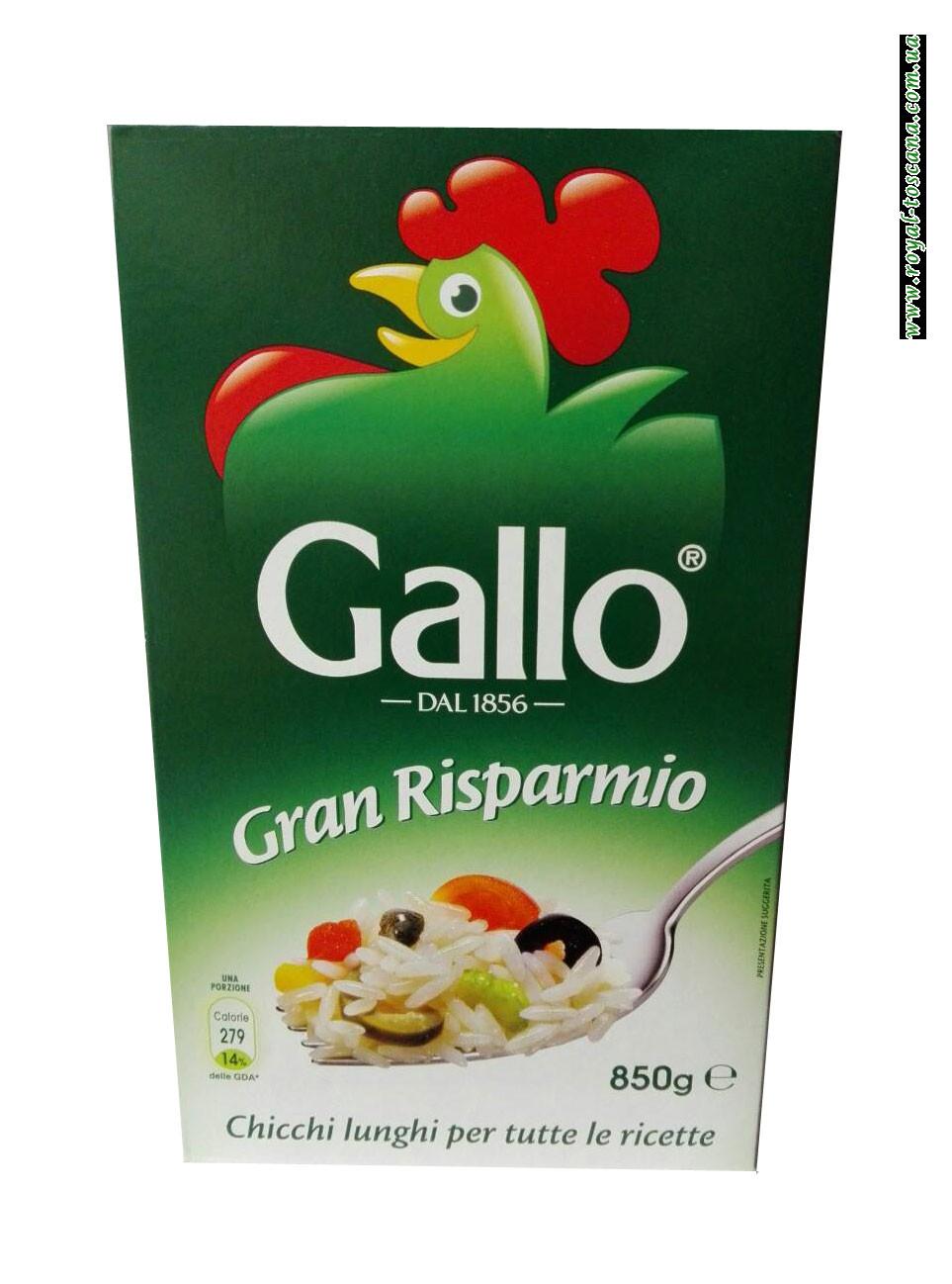 Рис Gallo Gran Risparmio