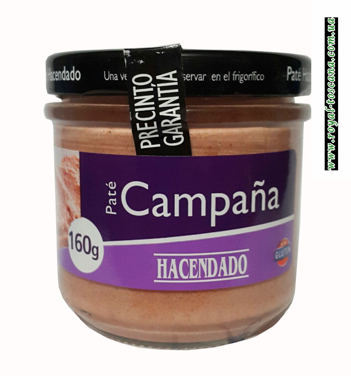 Паштет из свинины Hacendado Pate de Campana