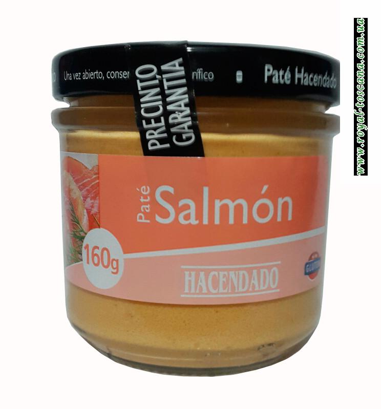 Паштет с лососем Hacendado Pate de Salmon