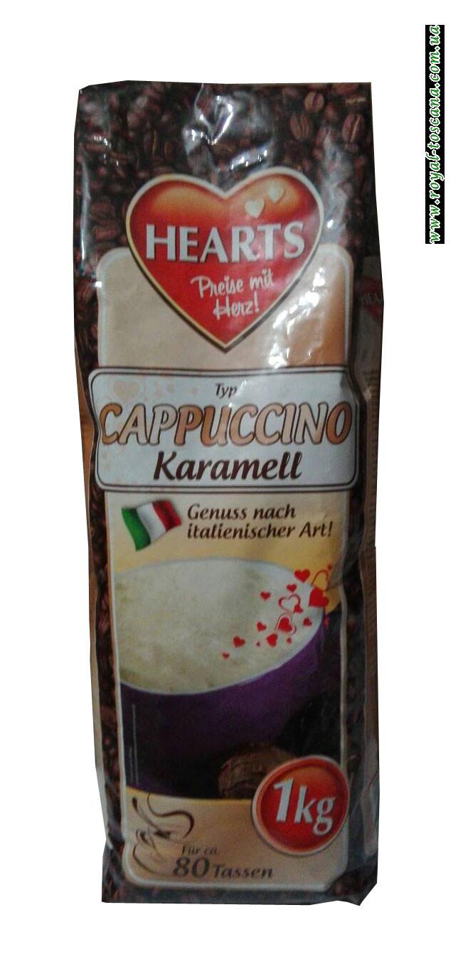 Капучино карамель Hearts Cappuccino Karamell