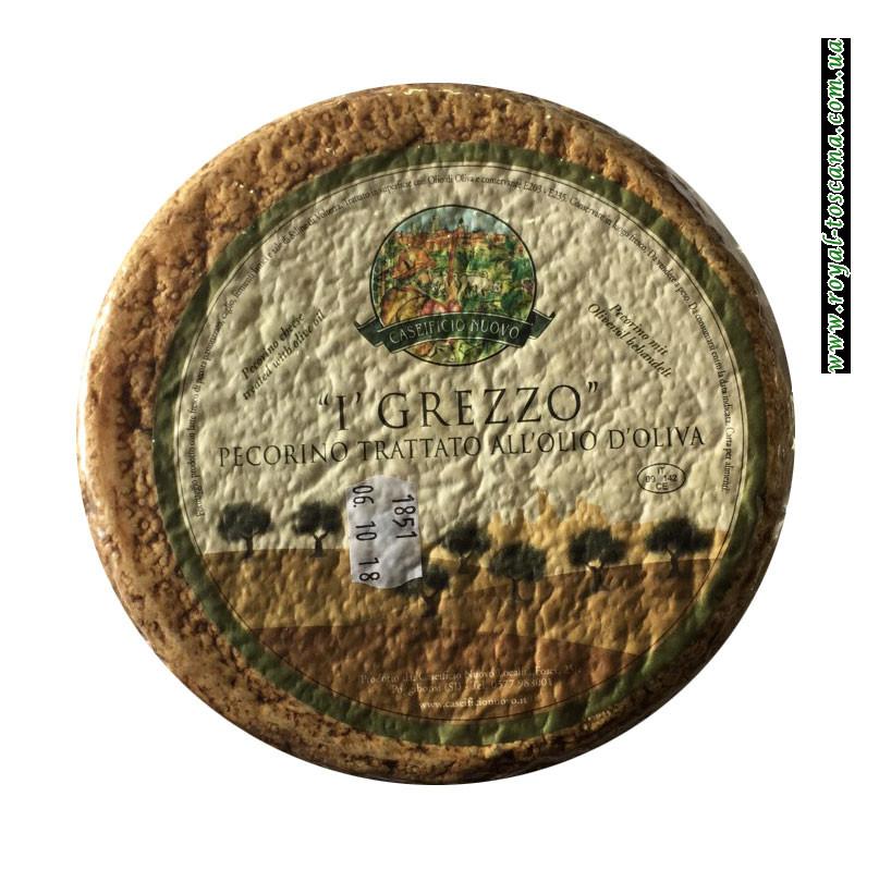 Сыр Caseificio Nuovo I' Grezzo Pecorino Trattato all'Olio D'Oliva