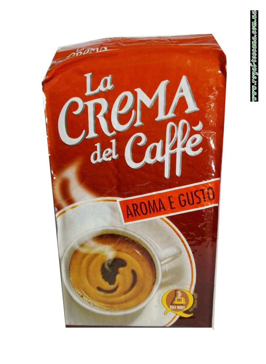 Кофе в молотый La Crema del Caffe Aroma e Gusto