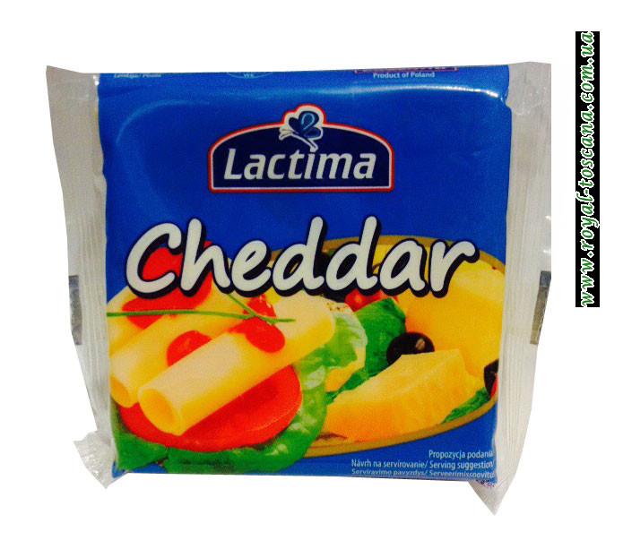 Сыр порционный  Lactima Cheddar