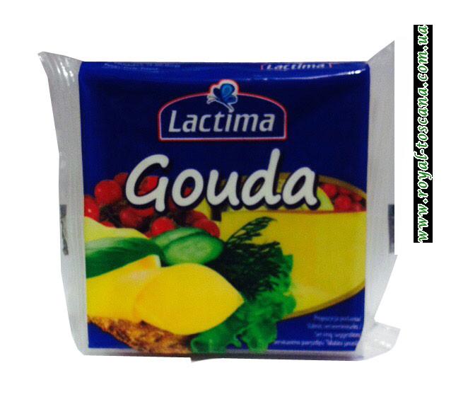 Сыр порционный  Lactima Gouda