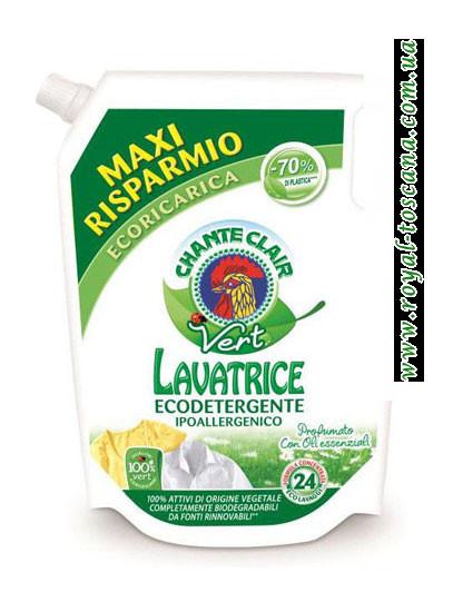 Гель для стирки цветных вещей ChanteClair Lavatrice Ecodetergente, запаска, 24 стирки