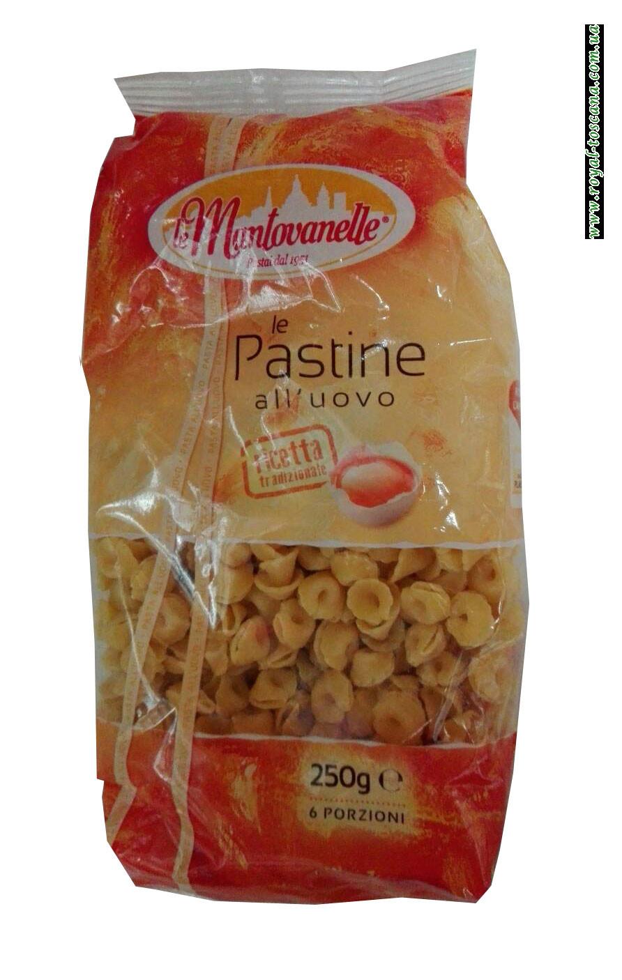 Макароны Le Mantovanelle le Pastine all Uovo