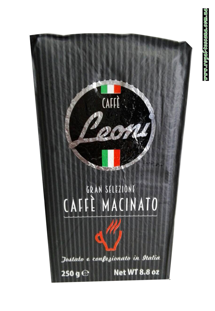 Кофе молотый Leoni Caffe Macinato