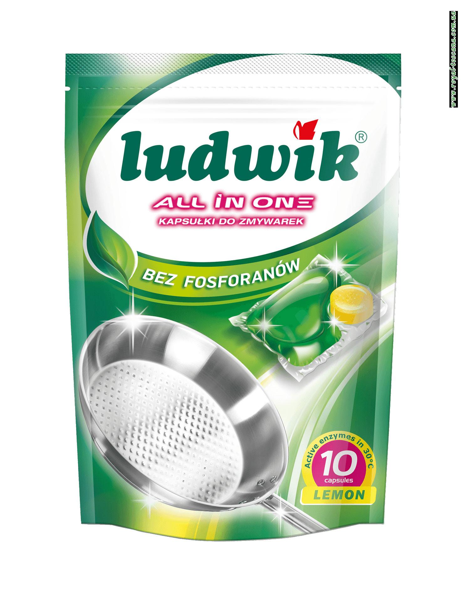 Капсулы для посудомоечных машин Ludwik, 10 шт