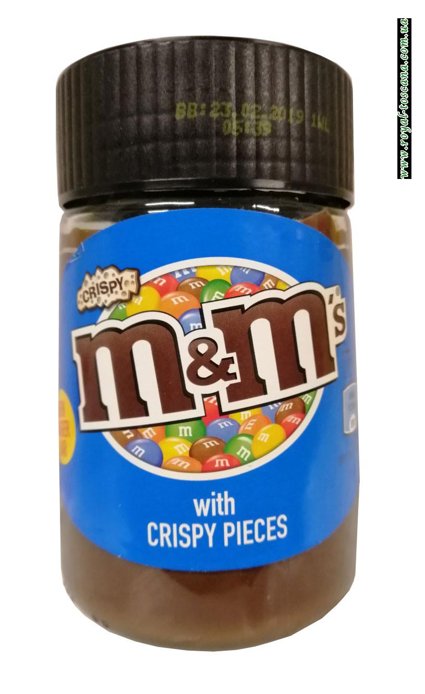 Шоколадный крем M&M With Crispy Pieces