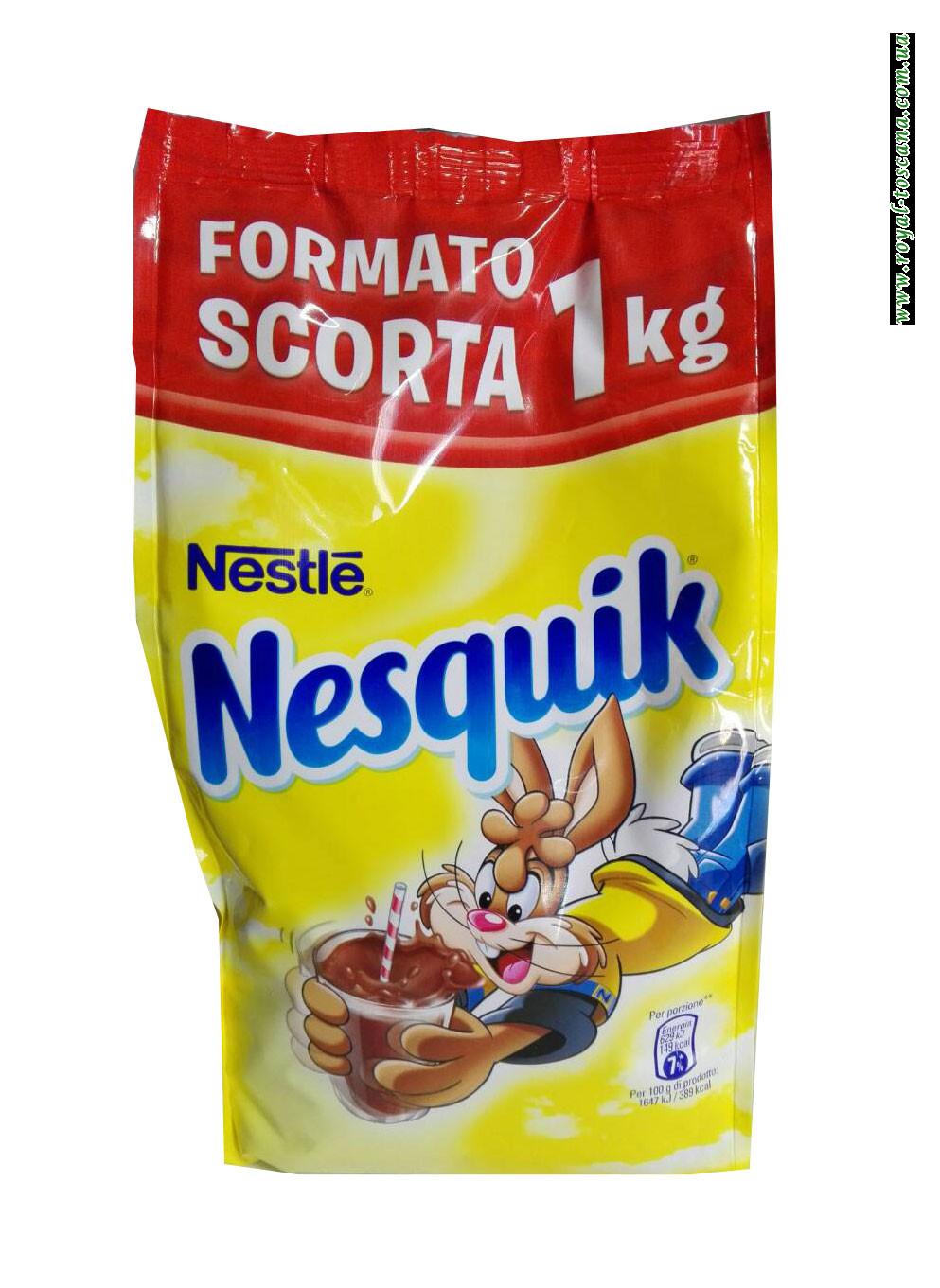 Какао напиток Nestle Nesquik