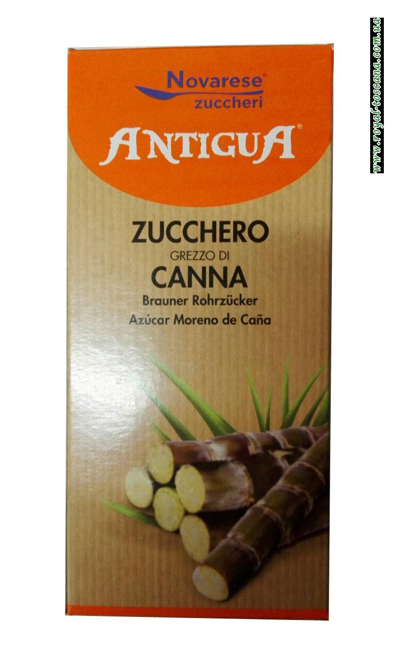 Сахар песок тростниковый Novarese Zuccheri Antigua Zucchero Grezzo di Canna