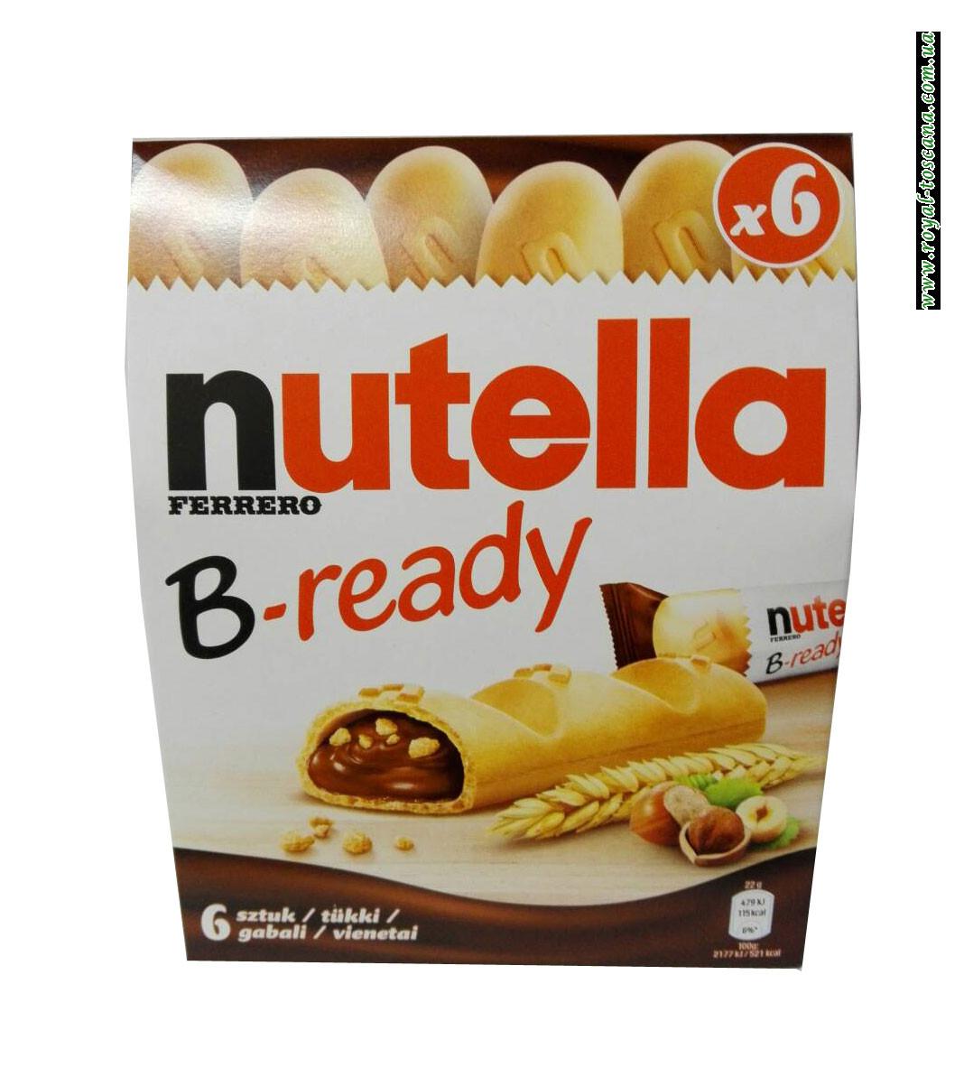 Печенье Nutella B-ready