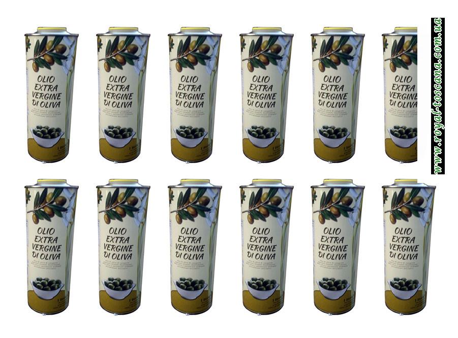 Оливковое масло Olio Extra Vergine di Oliva, ж/б 1л. Оптом.